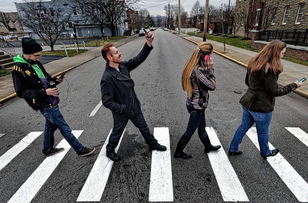 через дорогу картинки