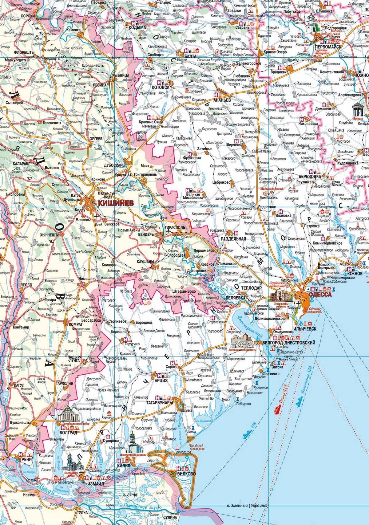 карта одесской области подробная с городами и поселками время оно должно