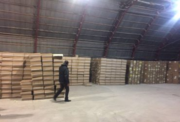 В Киевской области изъяли 50 тысяч пачек контрабандных сигарет (ФОТО)