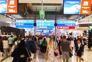 В аэропорту Дубая пассажиры будут проходить паспортный контроль за 15 секунд
