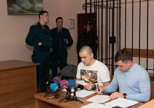 Одесского активиста Стерненко взяли под круглосуточный домашний арест