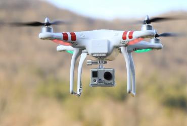 В США дрон чуть не стал причиной авиакатастрофы (ВИДЕО)